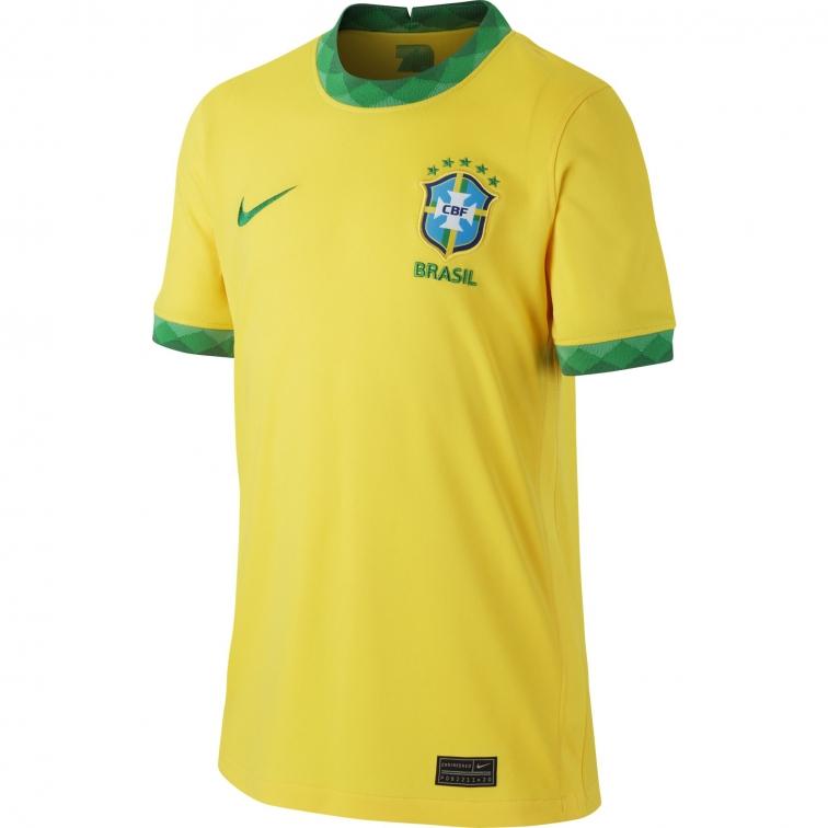 BRASILE MAGLIA BAMBINO HOME 2020-21