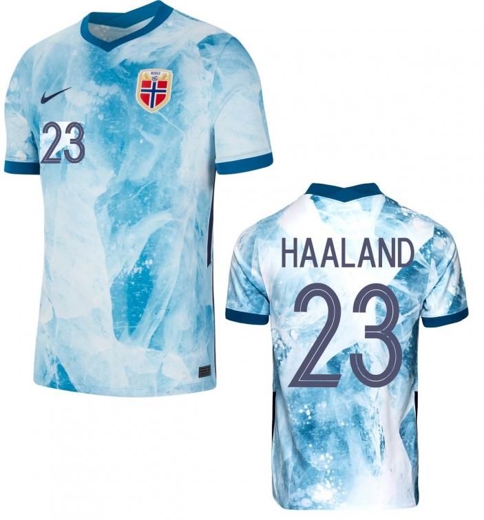 NORWAY HAALAND AWAY SHIRT 2020-21