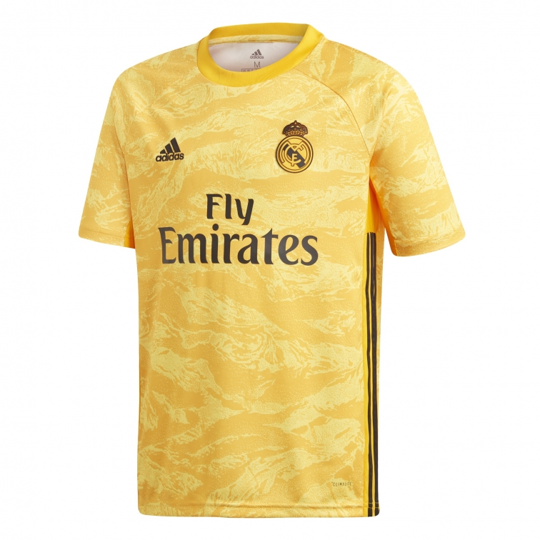 premium selection various design united kingdom REAL MADRID MAGLIA PORTIERE BAMBINO 2019-20