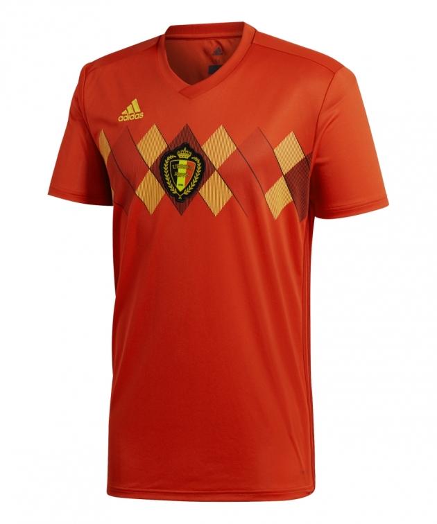 maglia Belgio ufficiale