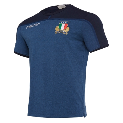 FIR ITALIA RUGBY T-SHIRT GIOCATORE BLU 2018-19