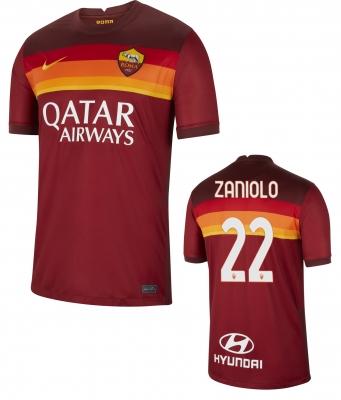 AS ROMA MAGLIA ZANIOLO HOME 2020-21