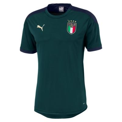 ITALIA FIGC MAGLIA ALLENAMENTO BAMBINO VERDE 2019-20