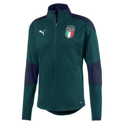ITALIA FIGC FELPA ACETATA VERDE 2019-20