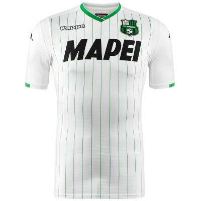 SASSUOLO MAGLIA AUTENTUCA GARA AWAY BIANCA 2018-19