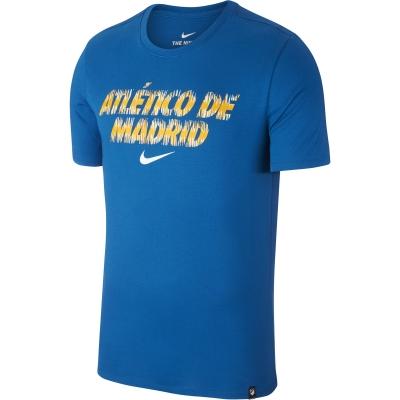 ATLETICO MADRID T-SHIRT BLUE 2018-19