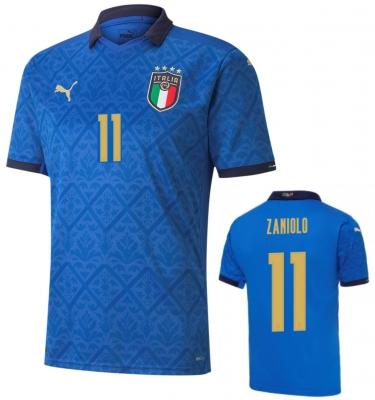 ITALIA FIGC MAGLIA ZANIOLO BAMBINO HOME 2020-21