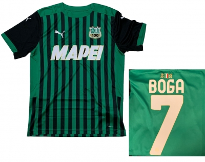 SASSUOLO MAGLIA BOGA HOME 2020-21