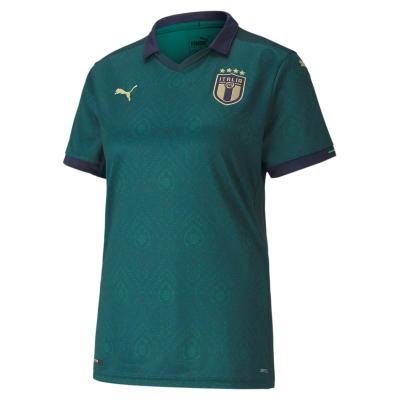 ITALIA FIGC MAGLIA DONNA 3RD VERDE 2019-21
