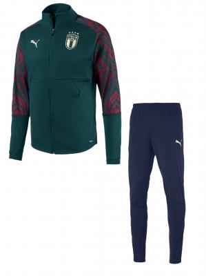 ITALIA FIGC TUTA PRESENTAZIONE VERDE 2019-20