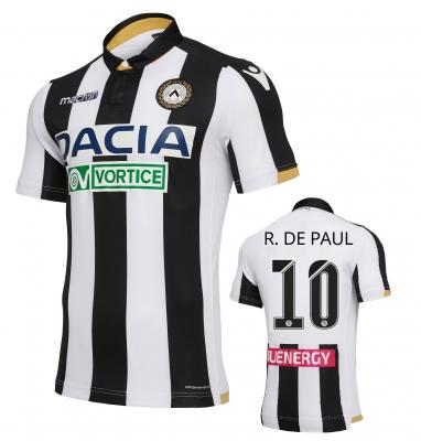 UDINESE MAGLIA DE PAUL AUTENTICA GARA 2018-19