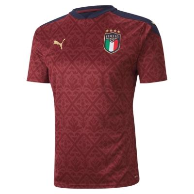 ITALIA FIGC MAGLIA PORTIERE BAMBINO ROSSA 2020-21