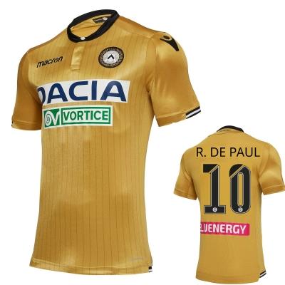 UDINESE MAGLIA DE PAUL AUTENTICA GARA ORO 2018-19