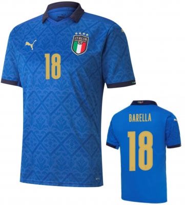 ITALIA FIGC MAGLIA BARELLA HOME 2020-21