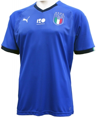 ITALIA FIGC MAGLIA 120 ANNI 2018-19