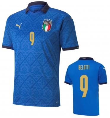 ITALIA FIGC MAGLIA BELOTTI BAMBINO HOME 2020-21
