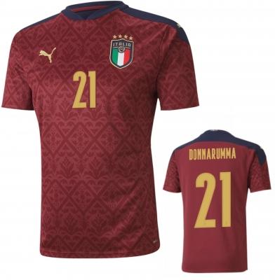 ITALIA FIGC MAGLIA DONNARUMMA ROSSA 2020-21