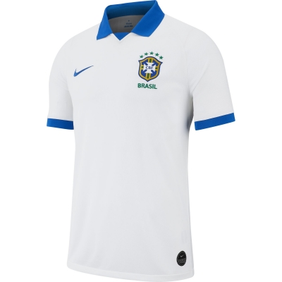 BRASILE MAGLIA AWAY BIANCA 2019-20