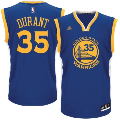 GOLDEN STATE WARRIORS MAGLIA KEVIN DURANT BLU