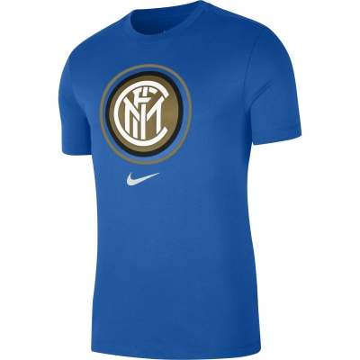 INTER LOGO BLUE T-SHIRT 2020-21