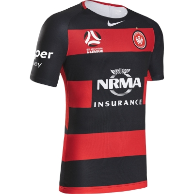 SYDNEY WANDERES MAGLIA HOME 2017-18